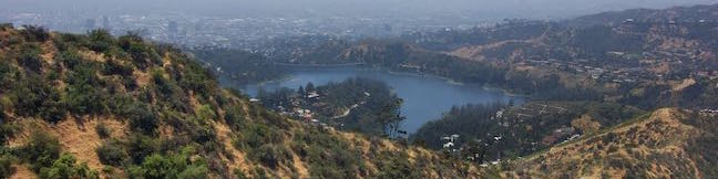 Hollywood Sign Mount Lee Cahuenga Peak Burbank Peak Lake Hollywood Reservoir Loop Hike Los Angeles California