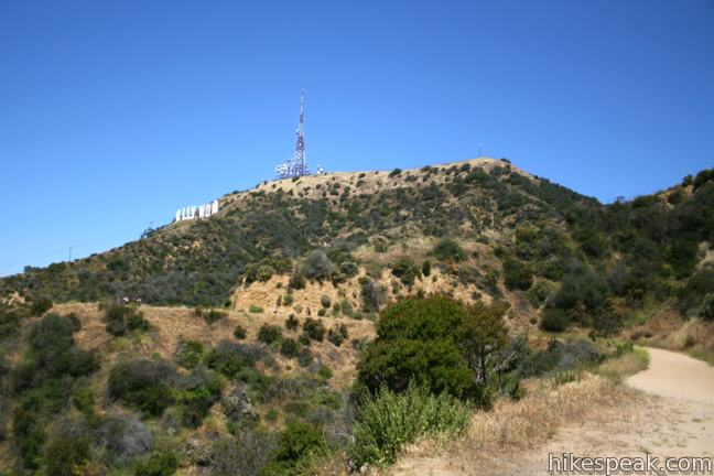 Brush Canyon Trail to Mount Lee and the Hollywood Sign in Griffith Park