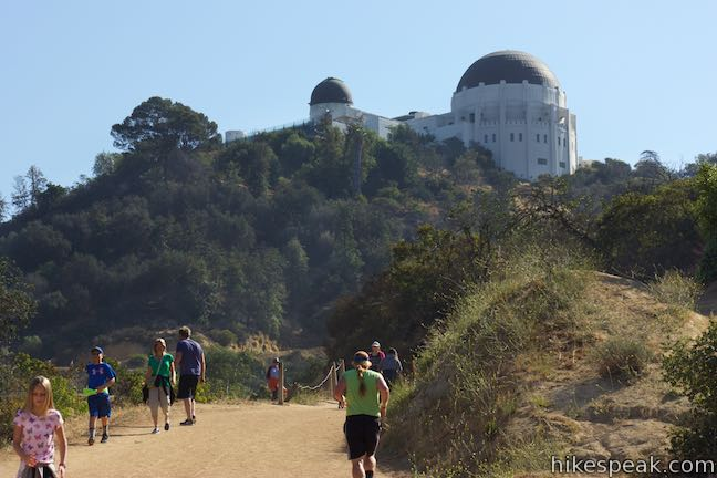 Observatory Trail Overlook Griffith Park