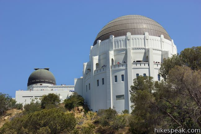 Griffith Observatory via West Observatory Trail in Griffith Park