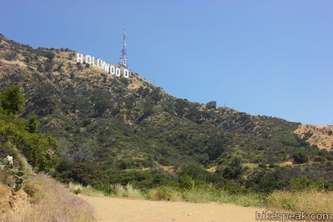Hollywood Sign Innsdale Drive Trail