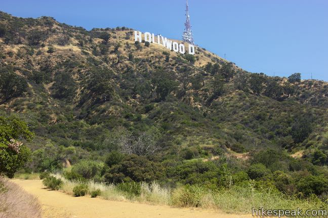 Hollywood Sign Innsdale Trail