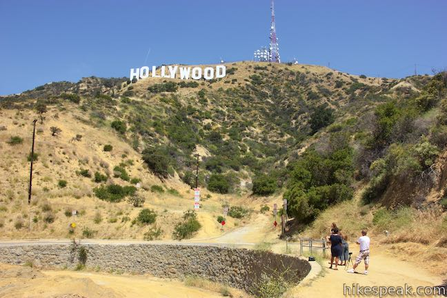 Hollywood Sign Mulholland Highway
