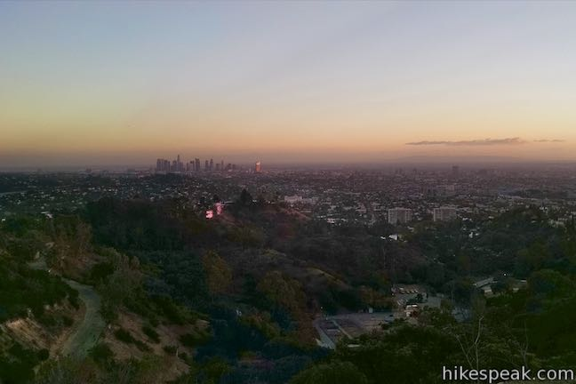 Vista View Point Sunset Downtown Los Angeles