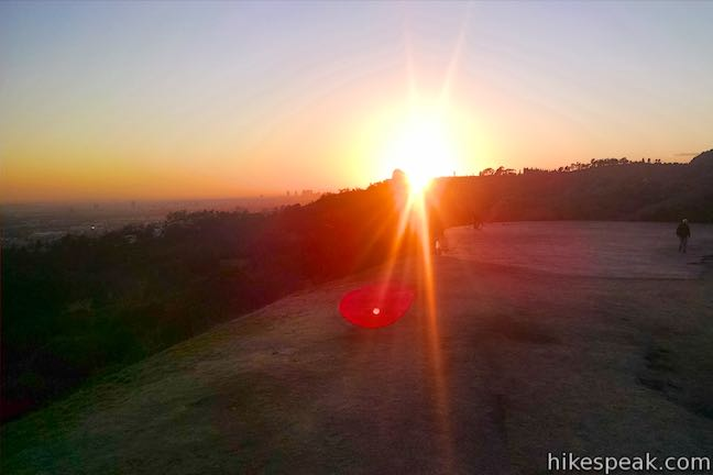 Vista View Point Sunset Griffith Park