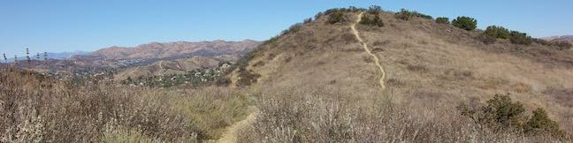 Heartbreak Hill Trail Santa Monica Mountains Hike Liberty Canyon Agoura Hills California