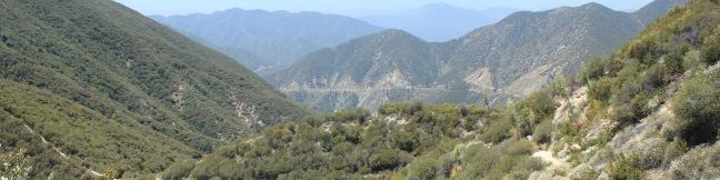 Heaton Flats Trail San Gabriel Mountains Angeles National Forest California hike