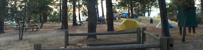 Henninger Campground San Gabriel Mounta