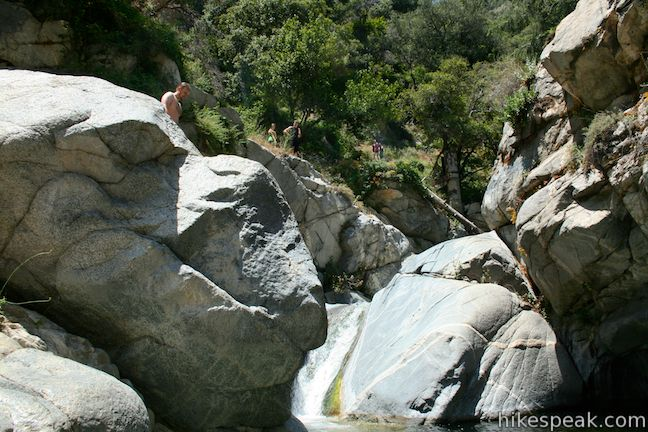 Hermit Falls Trail Los Angeles Hikespeak Com
