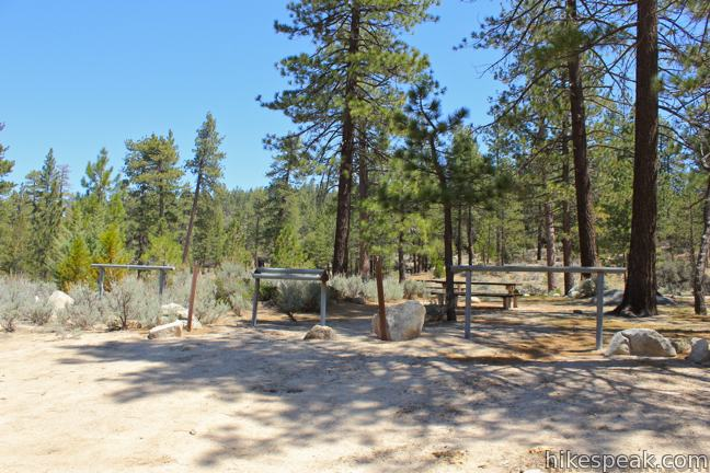 Horse flats campground los angeles for Camping cabins near los angeles