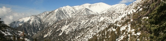 Icehouse Canyon Hike Baldy View