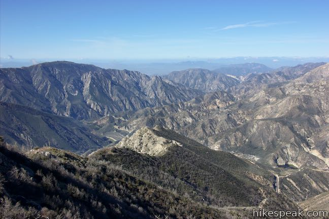 Josephine Peak Road Big Tujunga Canyon