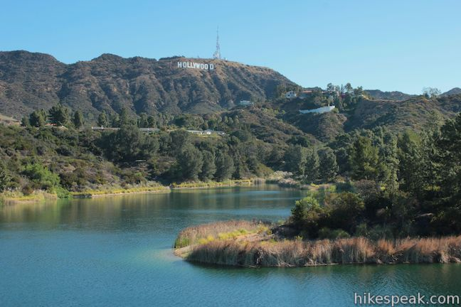 Hollywood Reservoir Hollywood Sign