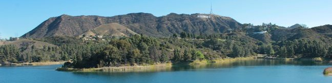 Lake Hollywood Reservoir Walking Trail Los Angeles reservoir loop hike