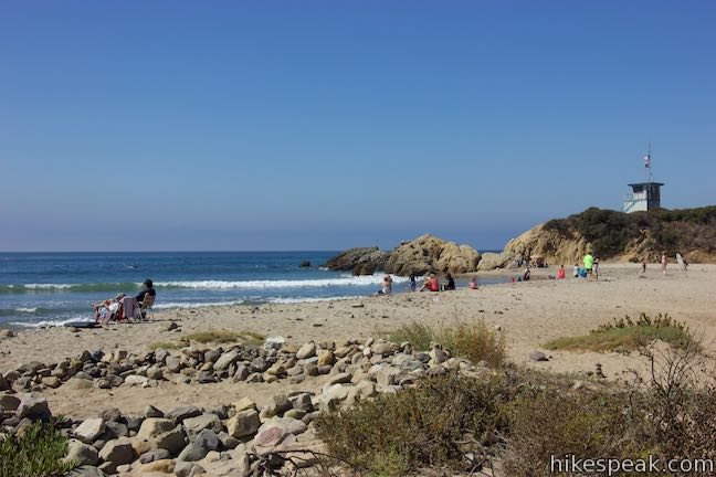 Leo Carrillo State Park Beach