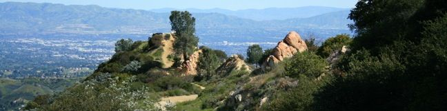 Topanga Lookout Hike Malibu easy trail Topanga Tower Santa Monica Mountains