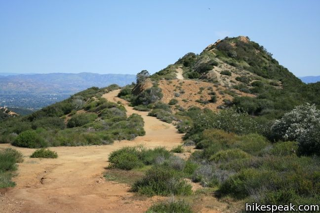 Topanga Lookout in the Santa Monica Mountains