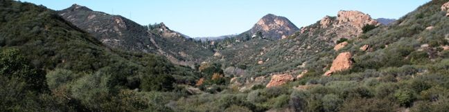 Lost Cabin Trail in Malibu Creek State Park