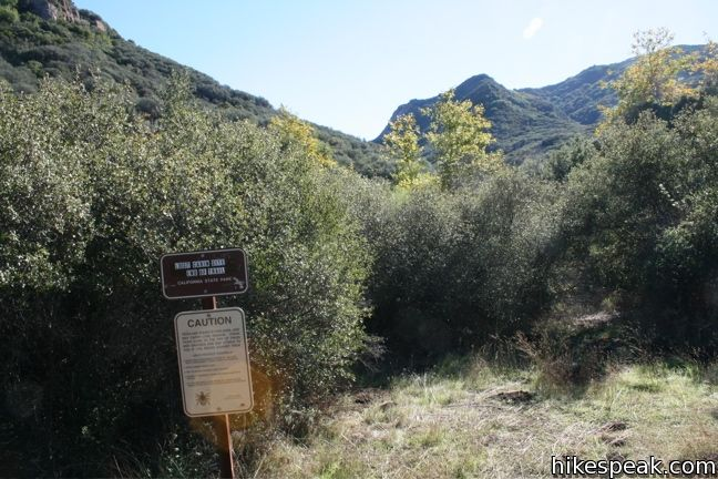 Malibu Creek State Park Lost Cabin Trail