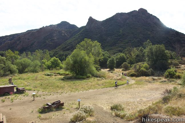 Hikes in Malibu Creek State Park