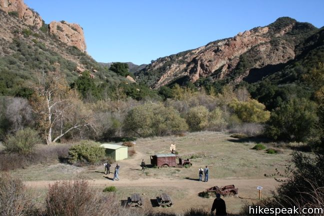 Malibu Creek MASH set