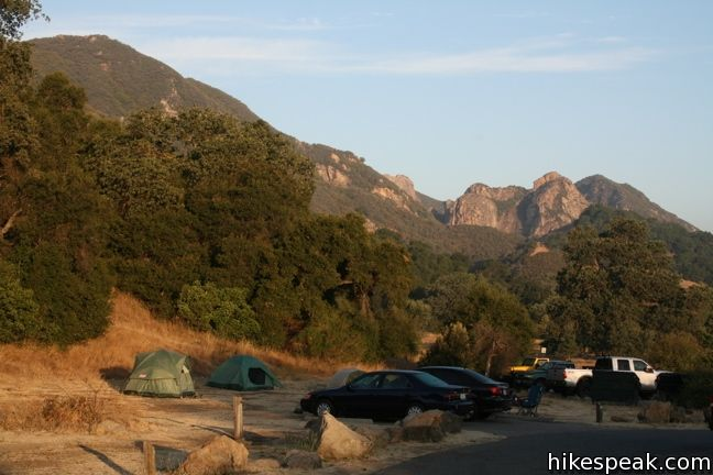Camping in Malibu Creek State Park