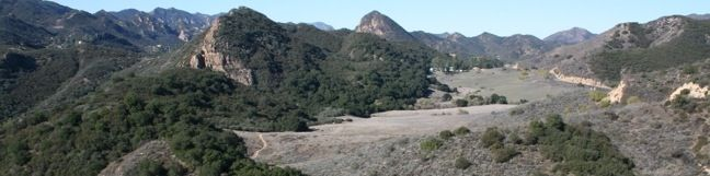 Lookout Trail - Cistern Trail - Cage Creek Trail - hiking in Malibu Creek State Park