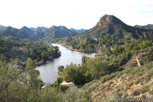 Lake Vista Trail in Malibu Creek State Park