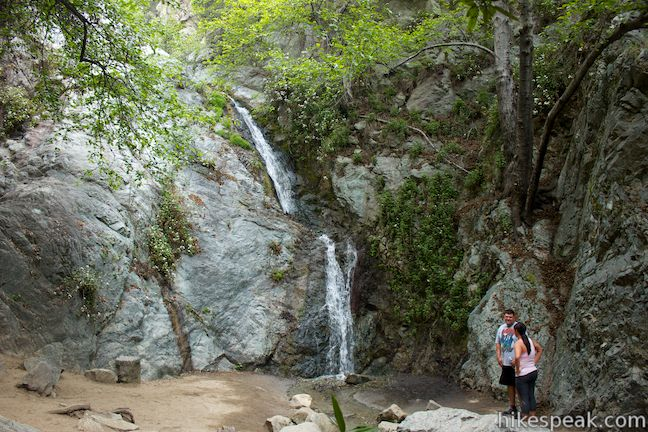This 1.6-mile to 3-mile hike in Monrovia Canyon Park follows an enchanting canyon up to the base of the 30-foot waterfall.