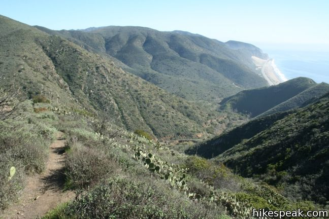 Mugu Peak Trail - Point Mugu State Park