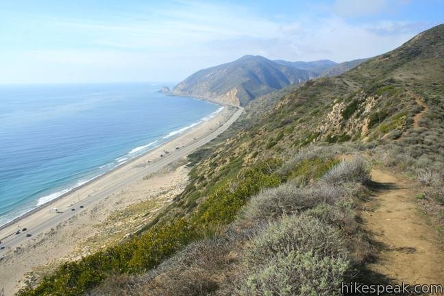 This 2.7 to 3.5-mile loop takes in tremendous ocean views above Big Sycamore Canyon in Point Mugu State Park.