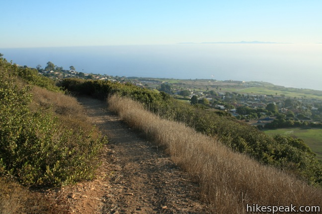 Quarry Loop in Forrestal Nature Reserve on Palos Verdes Peninsula