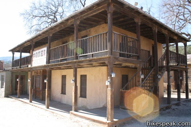 Western Town Paramount Ranch