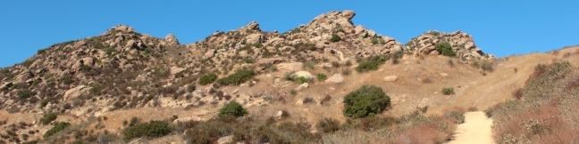 Rocky Peak Park summit hike Simi Valley Los Angeles California