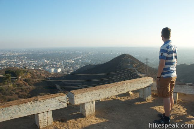 Runyon Canyon Park Overlook