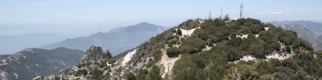 Mount Disappointment Trail Angeles National Forest hike San Gabriel Mountains
