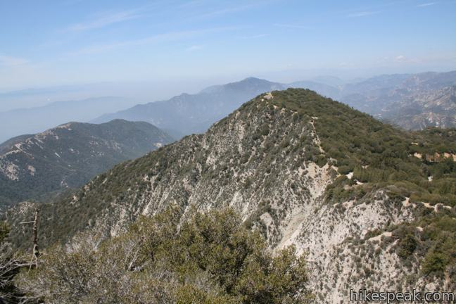 Mount Disappointment Fire Road to San Gabriel Peak in the San Gabriel Mountains