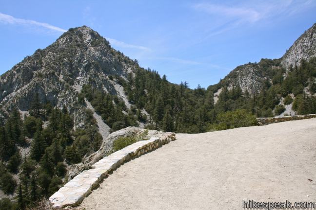 Mount Lowe Road to San Gabriel Peak in the San Gabriel Mountains