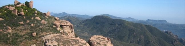 Sandstone Peak Hike Santa Monica Mountains Sandstone Peak Loop Malibu