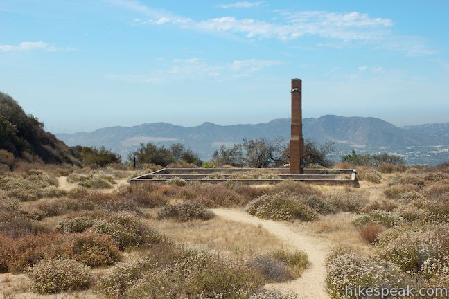 This 2.6-mile lollipop loop passes the ruins of an abandoned camp in the Verdugo Mountains with views across the San Fernando Valley.