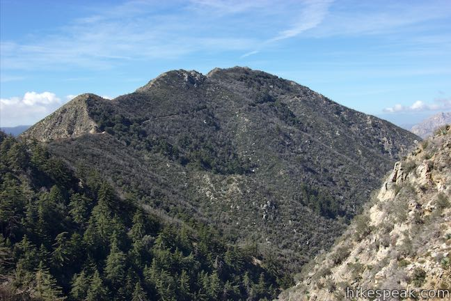 Josephine Peak San Gabriel Mountains