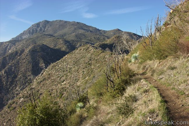 Strawberry Peak Trail in the San Gabriel Mountains