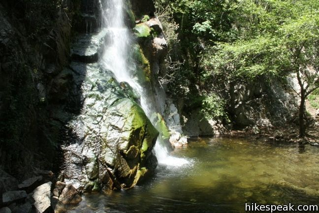 Santa Anita Canyon Loop Los Angeles Hikespeak Com