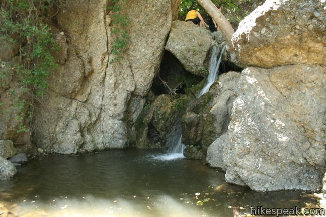 Temescal Canyon Waterfall