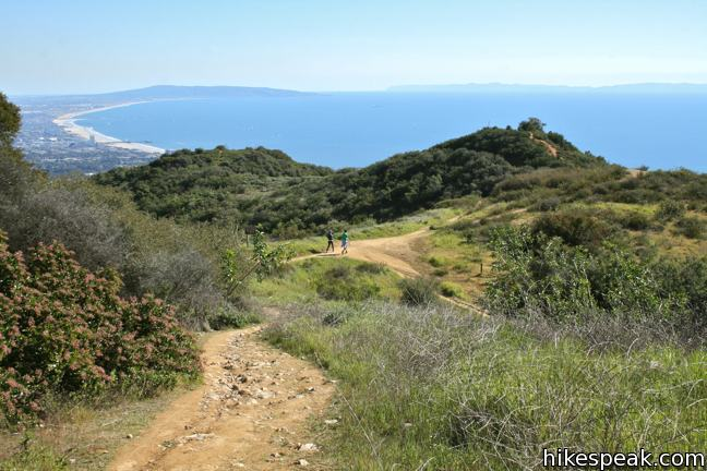Temescal Ridge Trail to Skull Rock
