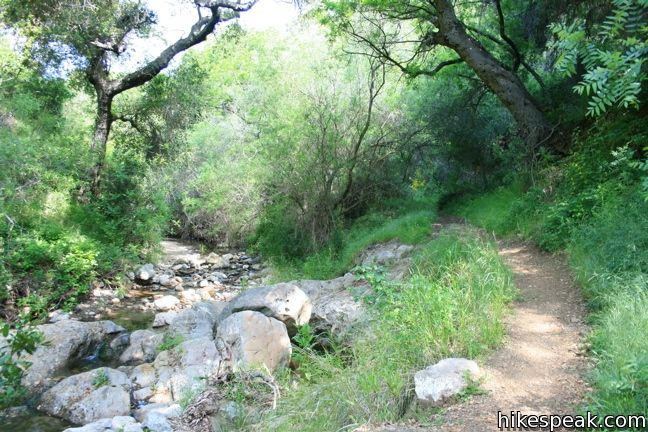 Santa Ynez Canyon Trail