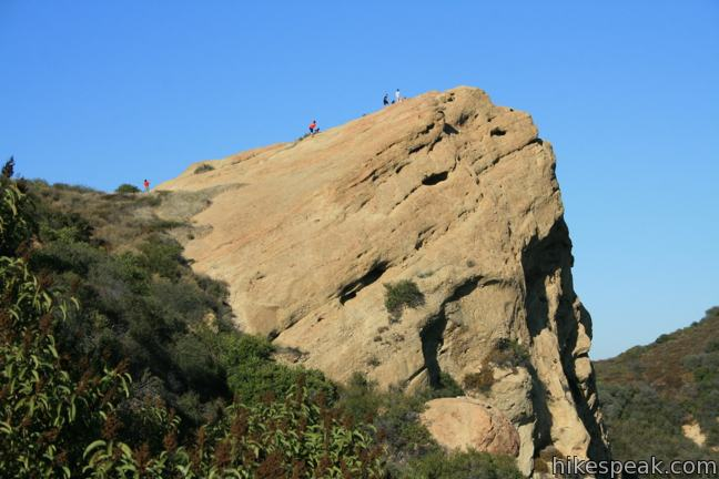 Eagle Rock from Trippet Ranch in Topanga State Park
