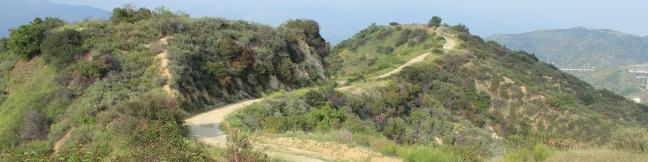 Beaudry Motorway Loop hike Tonga Peak Verdugo Mountains Trail Los Angeles