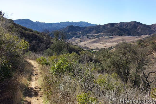 Las Virgenes View Trail Canyon Trail