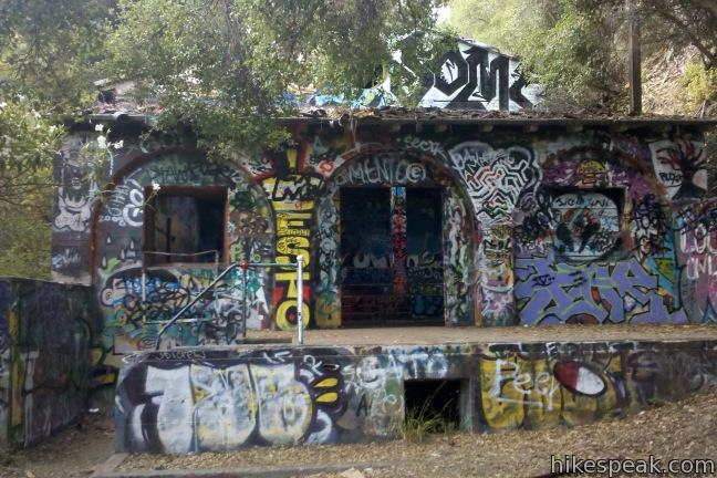 This 3.85-mile loop drops from Sullivan Ridge into Rustic Canyon where hikers can visit abandoned buildings once occupied by Nazi sympathizers.